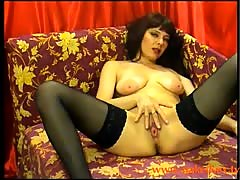 Beautywetchi the hot stickam milf masturbates